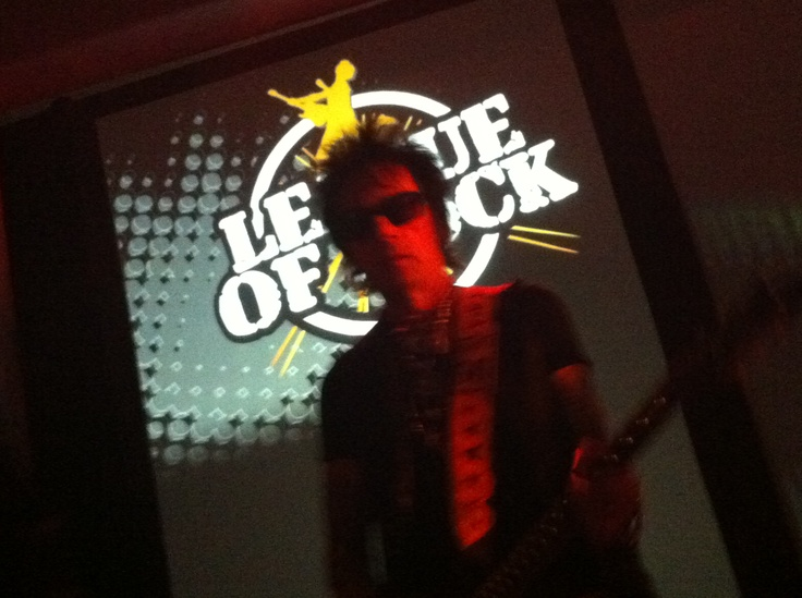 Earl Slick (David Bowie) kill'n it as a feature player in The League Of Rock All-Star Band for a Time Warner Cable Event.... North America's Best Team Building Event.