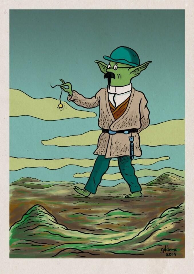 Tintin - Hommage Star Wars