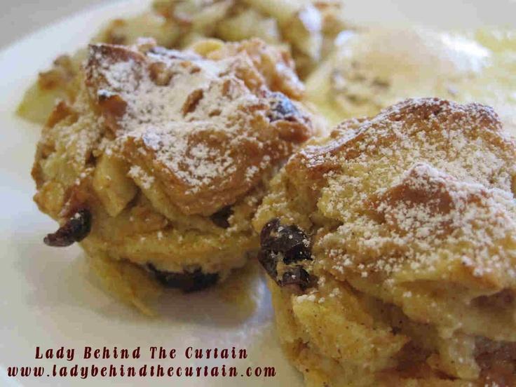 Bread Pudding Muffins | Recipe