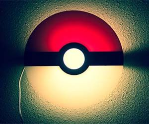 Light up your home the way only a true Pokemon master would, with the Pokeball night light. This stylish glass lamp will banish all boogie monsters to the far...