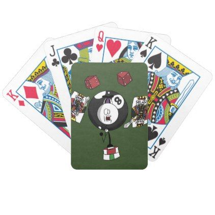 The Falcn show Bicycle Playing Cards - animal gift ideas animals and pets diy customize