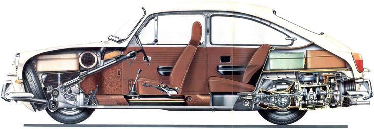 Volkswagen Type 3 Fastback | SMCars.Net - Car Blueprints Forum