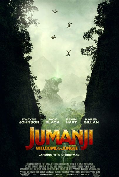 In the brand new adventure Jumanji: Welcome to the Jungle, the tables are turned as four teenagers in detention are sucked into the world of Jumanji. When they discover an old video game console with a game they've never heard of, they are immediately thrust into the game's jungle setting, into the bodies of their avatars, played by Dwayne Johnson, Jack Black, Kevin Hart, and Karen Gillan. What they discover is that you don't just play Jumanji –Jumanji plays you. They'll have to go on the…