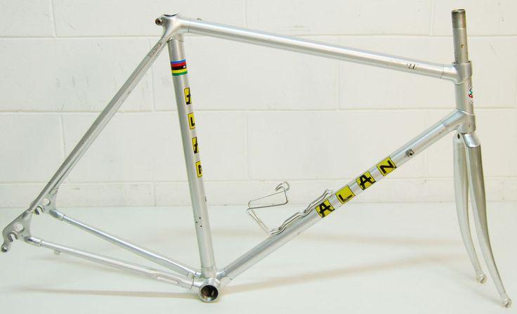 ALAN road bike Campagnolo frame Alluminium telaio corsa eroica super record +
