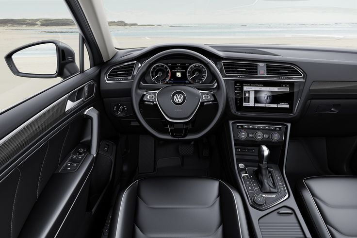 Europe's New VW Tiguan Allspace With 7-Seats Detailed Ahead Of Geneva