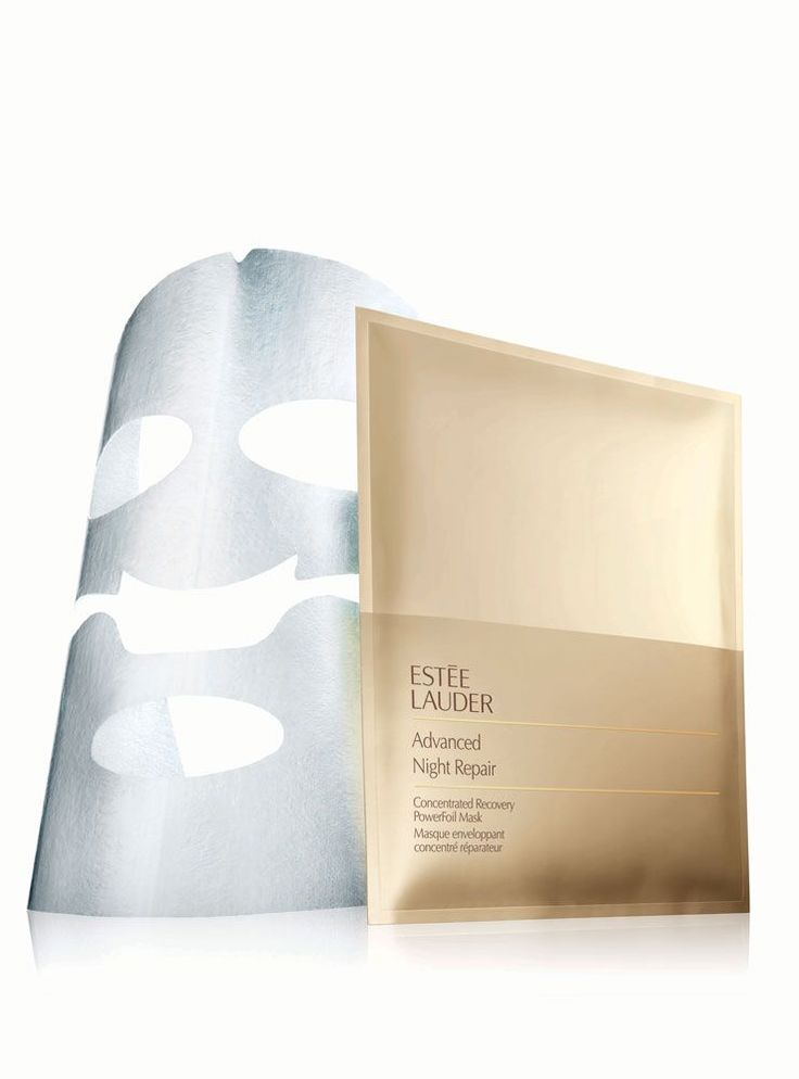 The Hype Around This Face-Mask Trend Might Actually Be Worth It - Advanced Night Repair Concentrated Recovery PowerFoil Mask by Estee Lauder.
