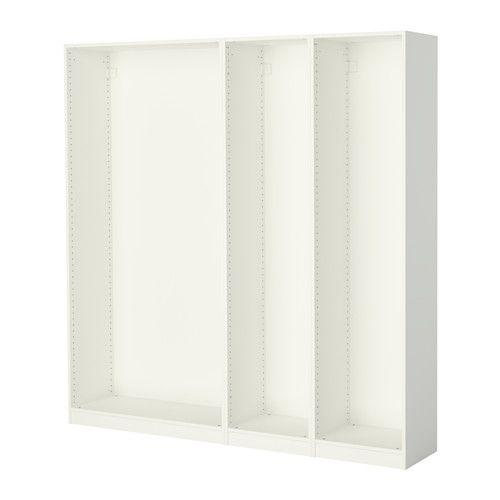 Ikea Hackers Kitchen Island Expedit ~   pax 50 236 60 frame ikea closets pax korpus kleiderschrank weiß ikea