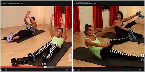 Pop Sugar's Fit Sugar channel has a variety of workouts for all fitness levels.