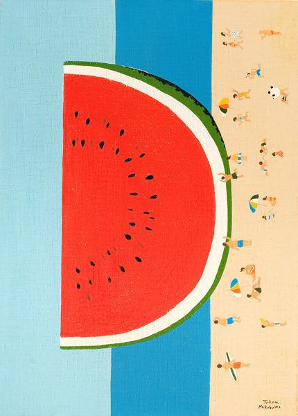 D is for Delicious gigantic watermelon slice / A to Z by Takao Nakagawa