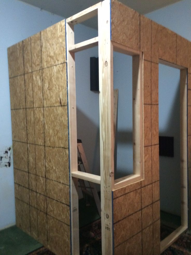 And that is the beginning of an amazing recording booth