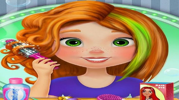 Hair Salon Games || Barbie Hair Salon Game  || Hair Salon Makeover Game