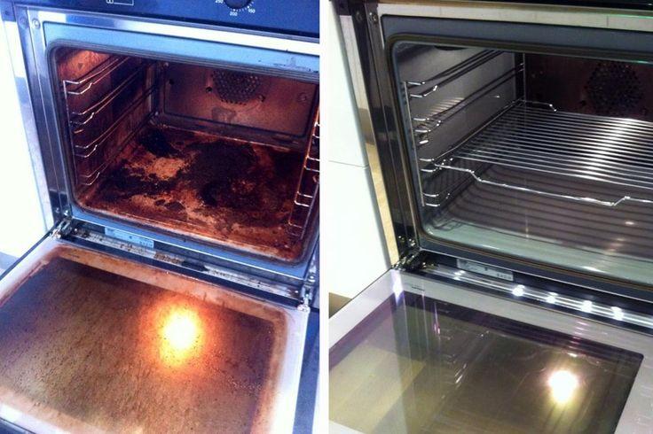 rengjøring av ovn