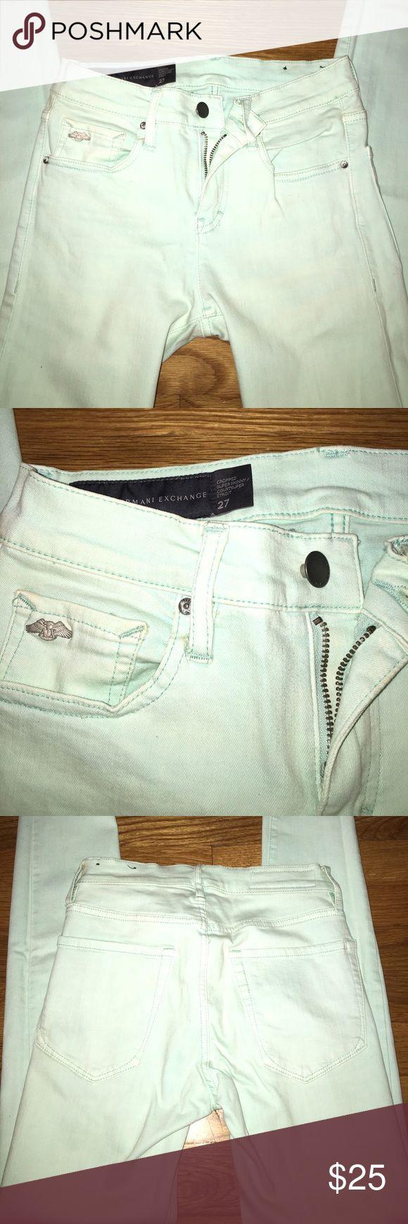 Armani Exchange AQUA summer aqua jeans Armani Exchange AQUA summer aqua jeans Armani Exchange Jeans Skinny