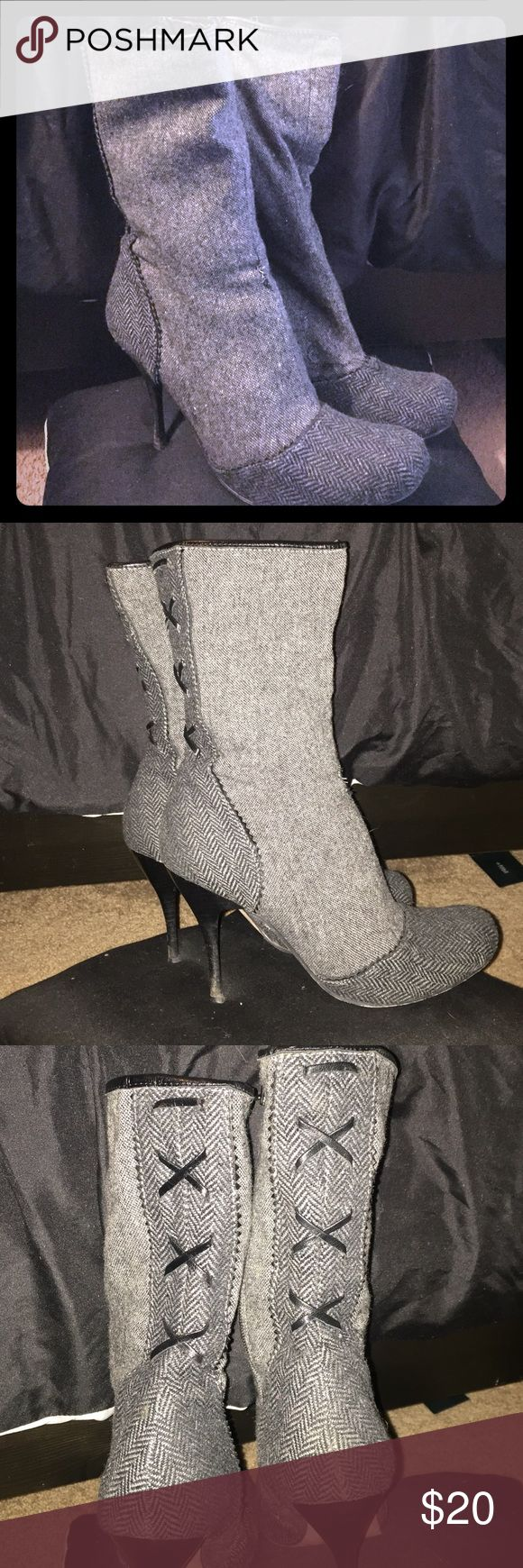 Charles by Charles David boots Super cute boots by Charles David. Used. Charles David Shoes Heeled Boots