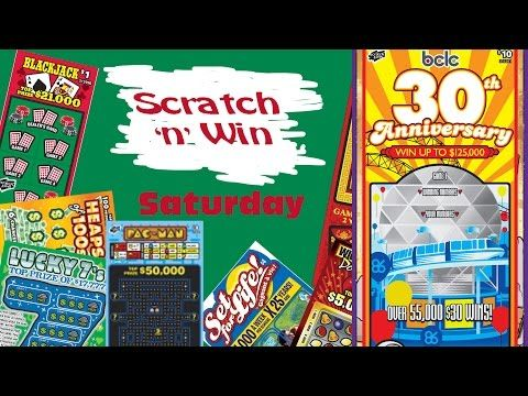 Scratch n Win Super Saturday BCLC 30th Anniversary - YouTube
