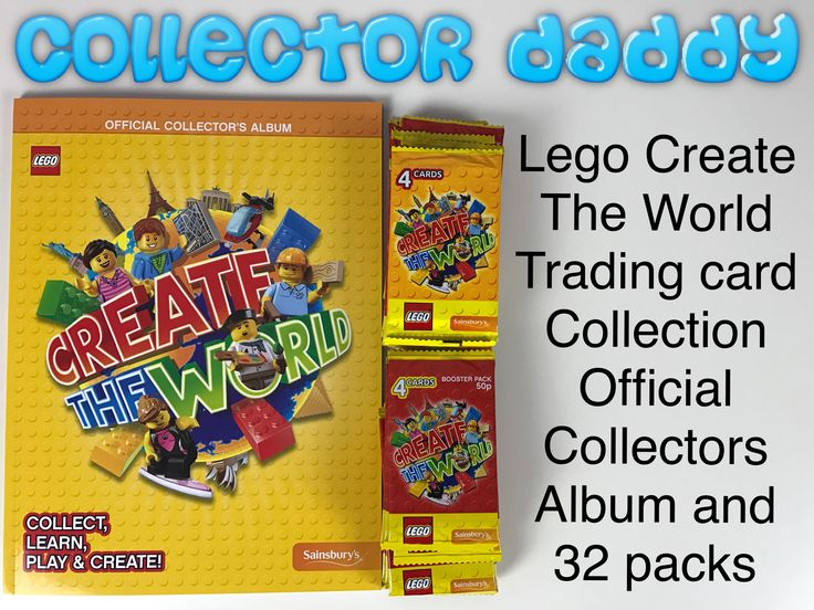 lego create the world trading card collection official