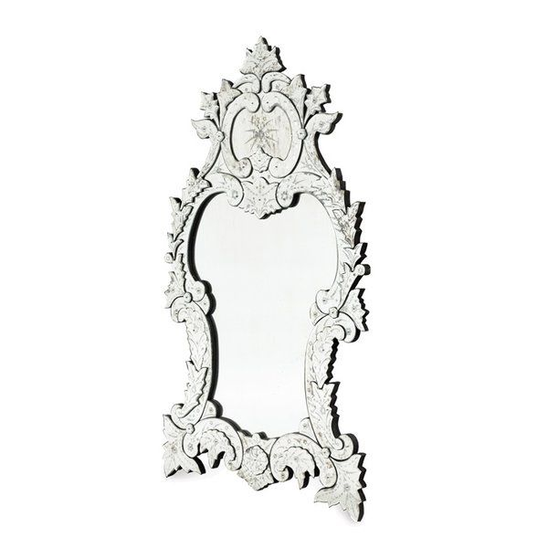 Antiqued Palace Venetian Mirror Has Attractive Finely Ornamental Details That Give A Splendid Royal Look This Antique Style Will Add Sophisticated