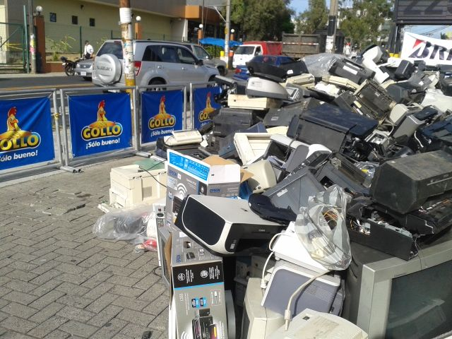 Recolectaron 28 toneladas de residuos especiales