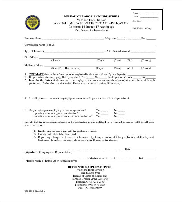 employment certificate free word pdf documents download proof letter template verification form