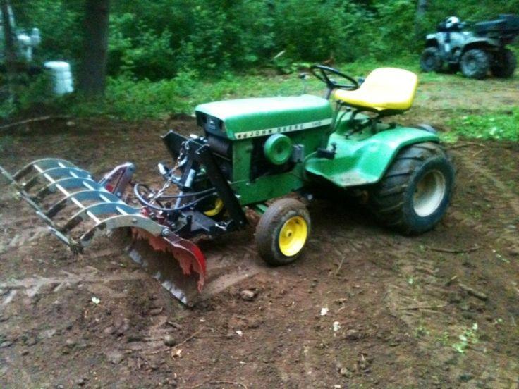 off road mower 205 best john deere garden tractors images on pinterest john