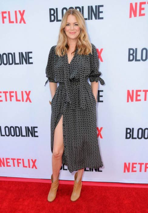 Jacinda Barrett at the Bloodline: Season 3 Special Screening Premiere in March 2017...