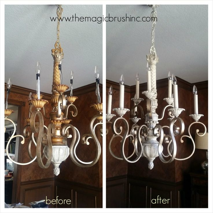 Painting Light Fixtures and Chandeliers | Magic Brush