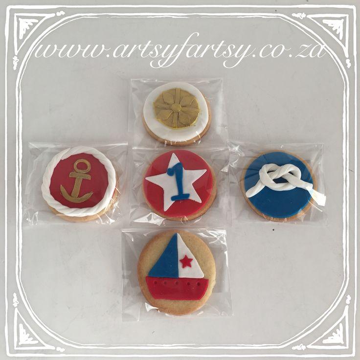Nautical Cookies #nauticalcookies