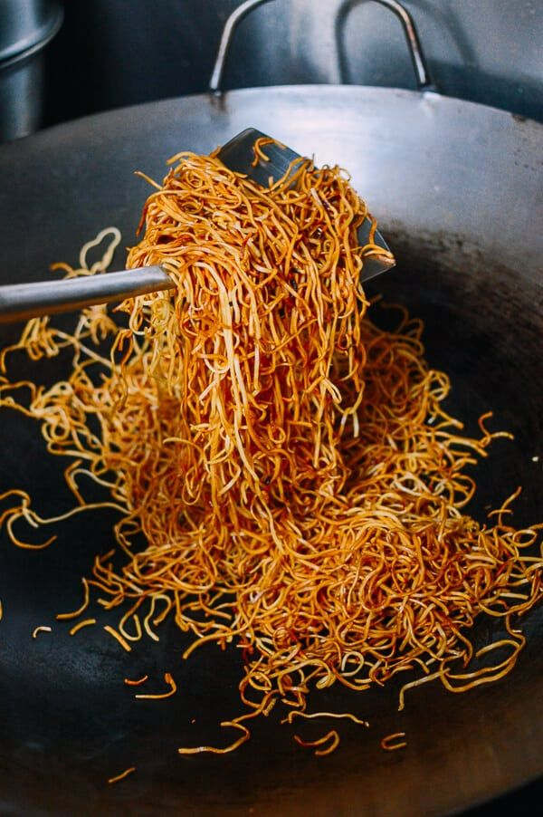 Vegetable Chow Mein Noodles Hong Kong Cantonese Style Recipe
