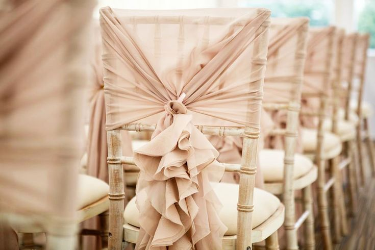 Ruffle Hoods | Deans Chair Covers - Chair cover hire for weddings, events etc