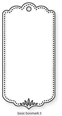 Papertrey Ink - Basic Bookmark 3 Die: Papertreyink