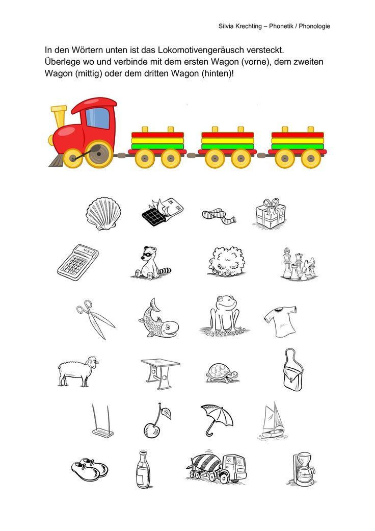 Arbeitsblatt Zur Lautlokalisation Logopadie Ubungen Arbeitsblatter Grundschule Vorschulideen