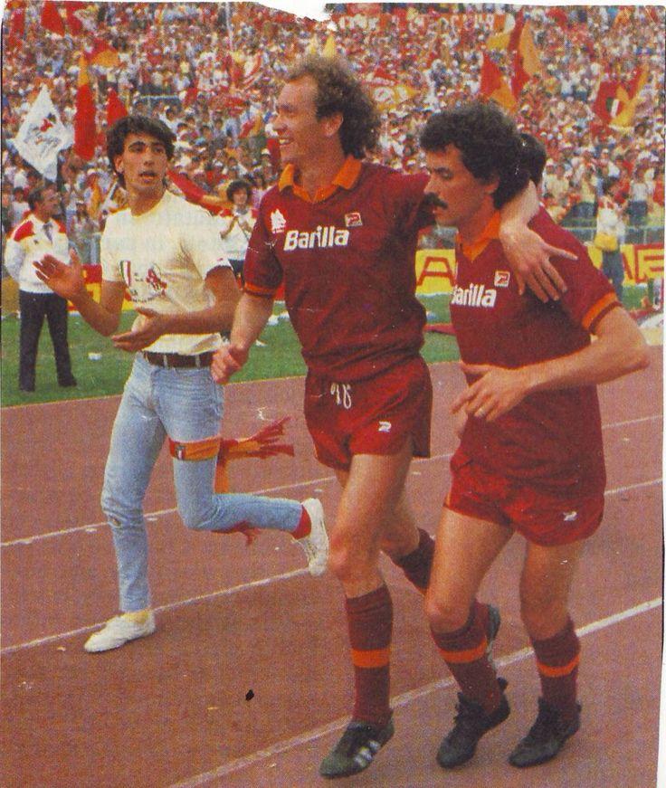 Paulo Roberto Falcao e Michele Nappi