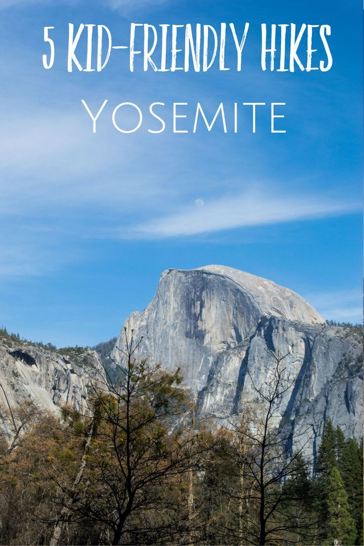 California Map Sequoia National Park%0A Short Hikes in Yosemite  where to hike with kids in Yosemite  California