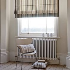 Clarke and Clarke - Astrid Fabric Collection : Soggiorno in stile scandinavo di Curtains Made Simple