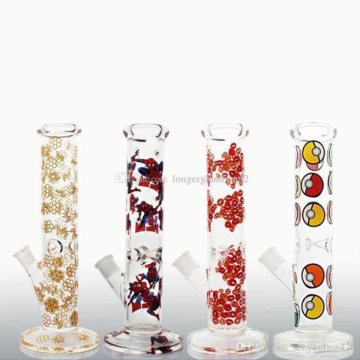 2017 NEW colourful glass water pipes 5MM Thick glass Precious process bee Honeycomb beaker glass bongs oil rigs recycle dab rig