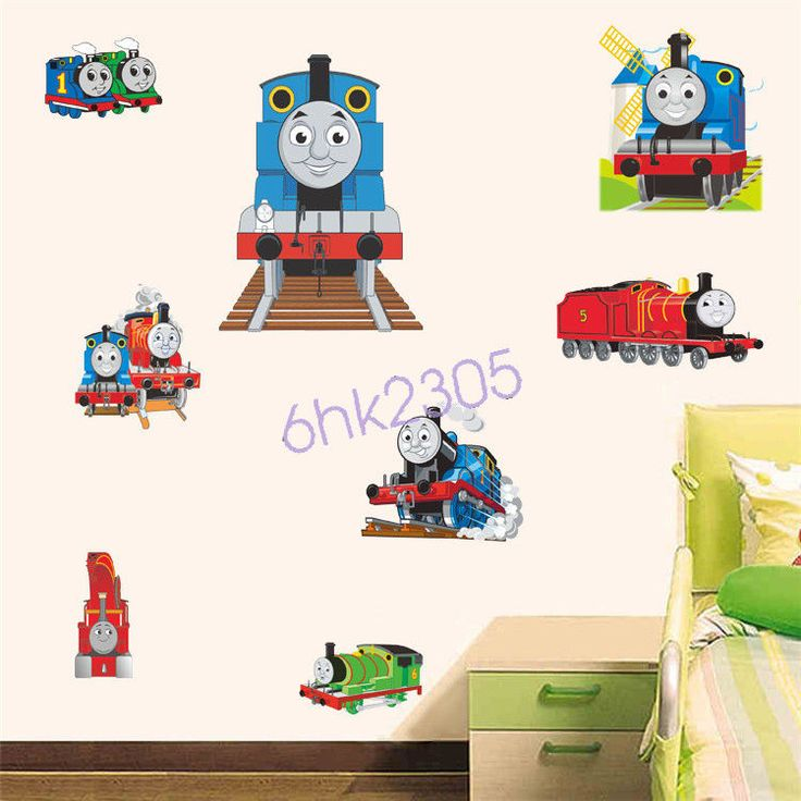 #Decor Https://lastreviews.net/home/decor/decor Thomas Friends  The Tank Engine Train Wall Sticker Kids Art Nursery Decal/ Part 71