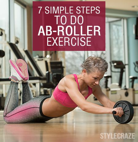 7 Simple Steps To Do Ab-Roller Exercise