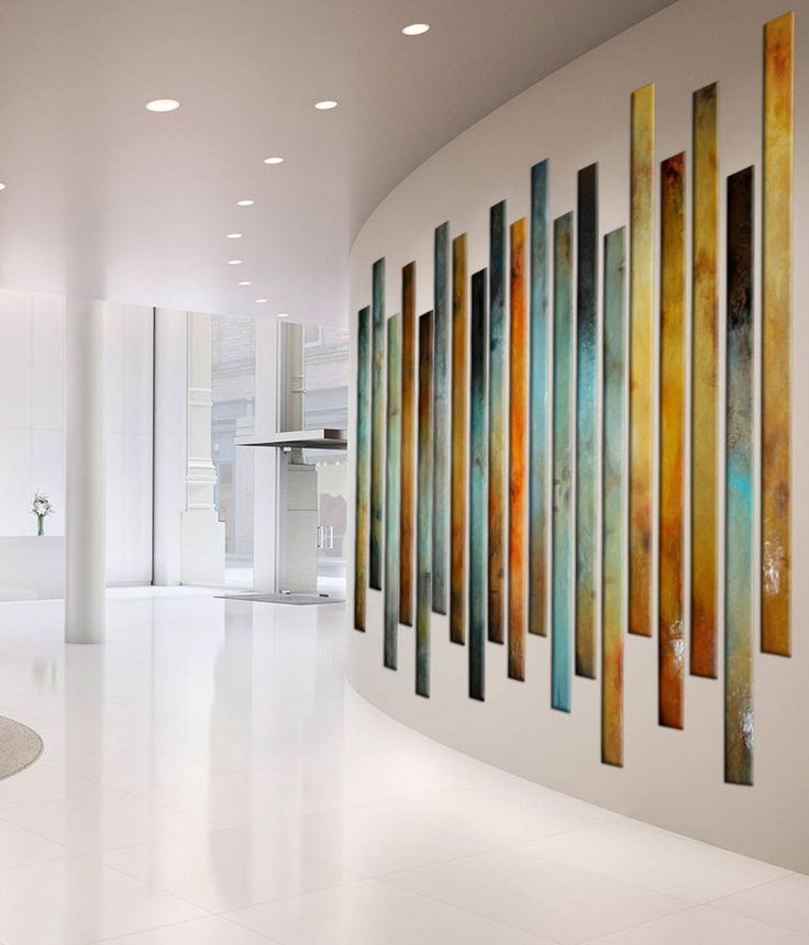 large painting multiple panels foyer art curved large on wall art for home id=60687