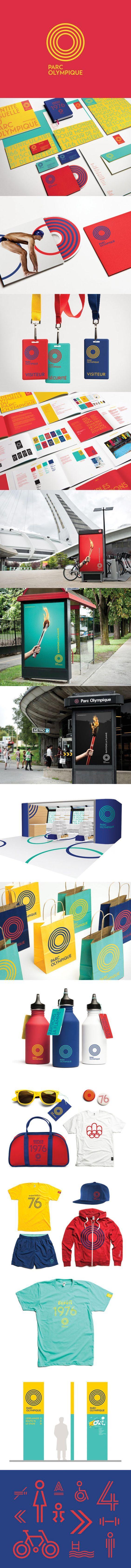 Montréal Olympic Park identity by lg2 | Fivestar Branding – Design and Branding Agency & Inspiration Gallery
