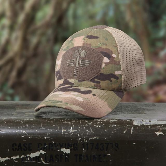 Multicam Arid Tactical Baseball Cap MCA 100% Mesh 65/35 Ripstop Material Baseball Hat Outdoor Camo Sport Hunting Caps