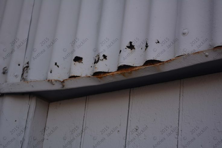 Corrosion face