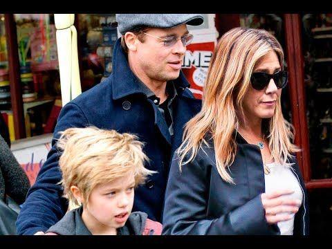 Brad Pitt And Jennifer Aniston S Italian Getaway With Shiloh