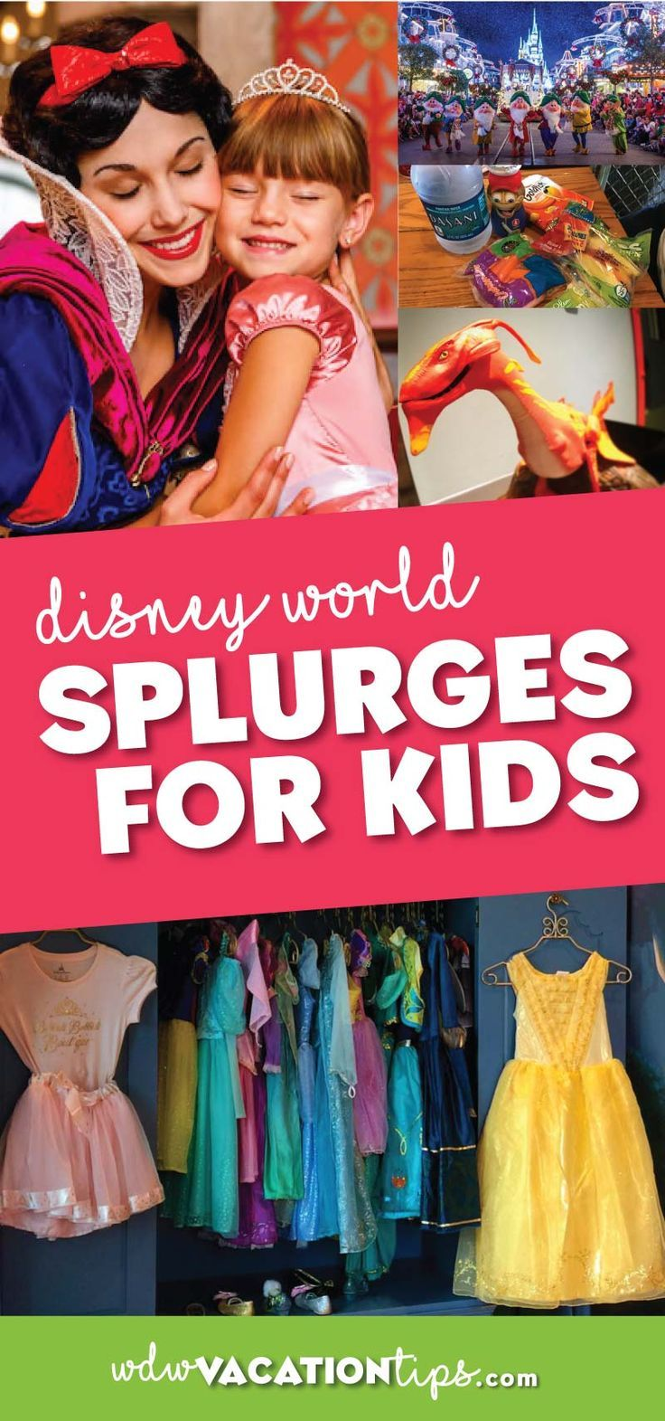 A Disney World vacation in and of itself is a splurge for your kids. We are going to share with you some special Disney World splurges for kids.