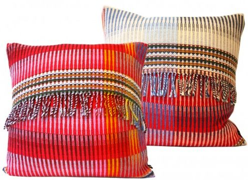 Grenadine Throw Pillow by Wallace Sewell; like these, although for $200.