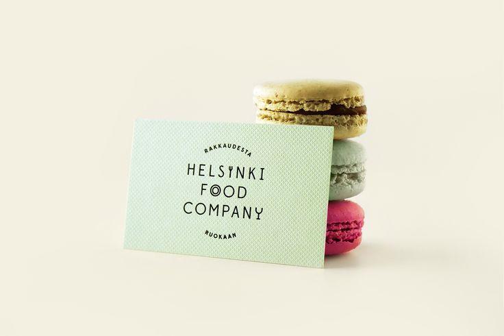 Business card - Helsinki Food Company