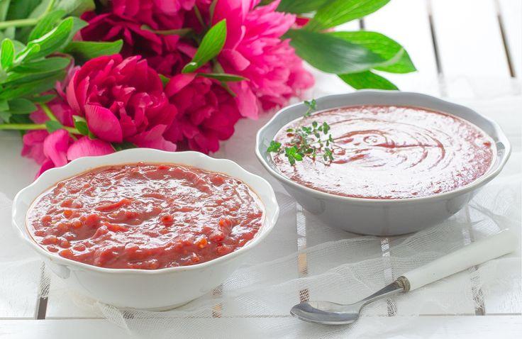 Pysznym dodatkiem do grillowych dań będzie z pewnością domowy sos ketchupowy i sos barbecue! #intermarche #grill #sosy