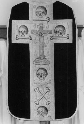 Image result for memento mori chasubles