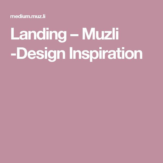 Landing – Muzli -Design Inspiration