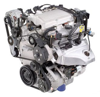 This is a Chevrolet 350 small block engine. These have been in Chevy trucks for years.   It is a very reliable, yet powerful engine.