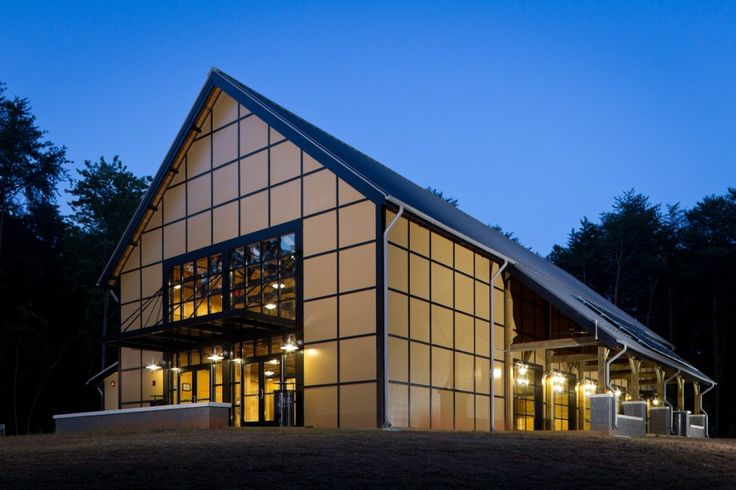 The Barn, a new student social space on the campus of Wake Forest University, Monday, August 1, 2011.